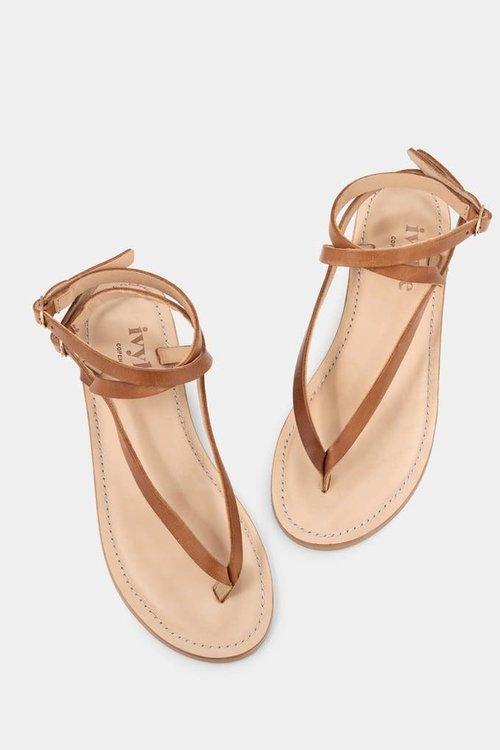 Ivylee Olive Escuvado Sandals