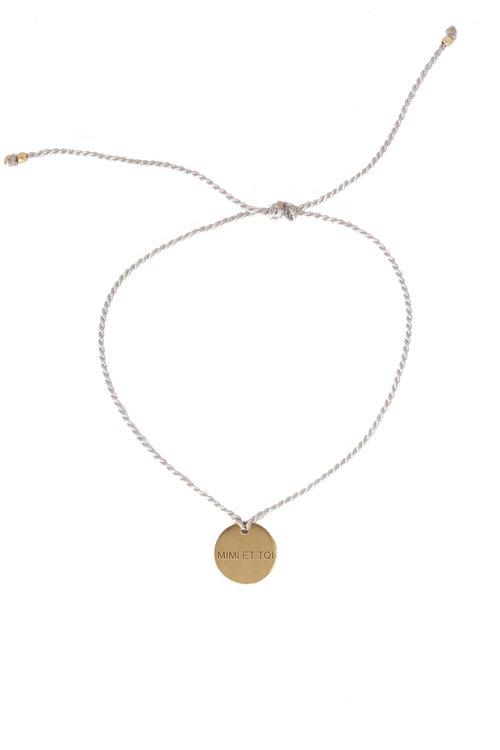 Mimi XO Grey Bracelet