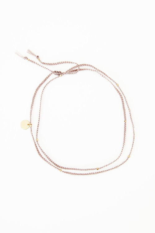 Mimi et Toi Double Square Beads Bracelet
