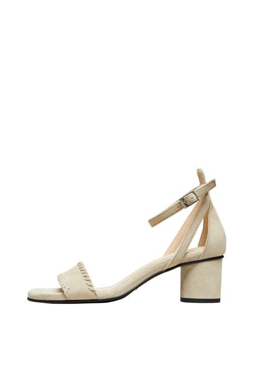 Merle Suede High Heel Sandal