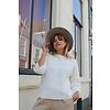 Selected Femme Gold 3/4 Boatneck Knit