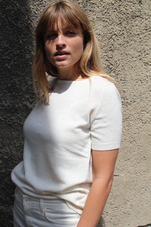 Resort Finest Lido Pullover Short Off White/Ecru