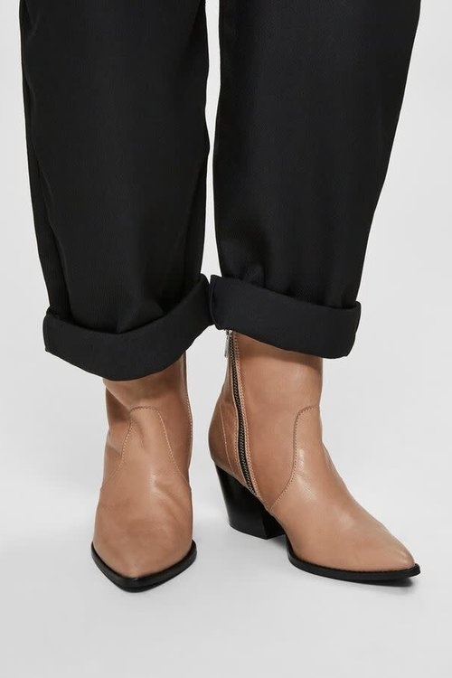 Selected Femme Julie Leather Boots