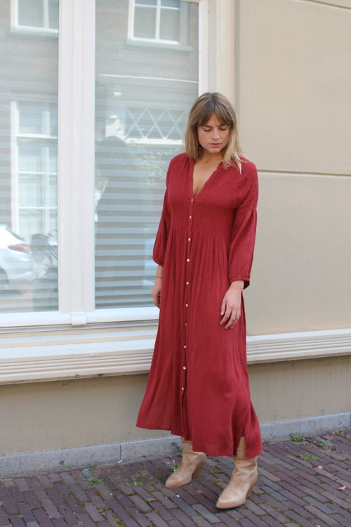 By Bar Loulou Smocked Dress