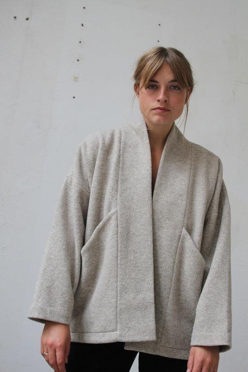 7115 Wool Sumo Jacket