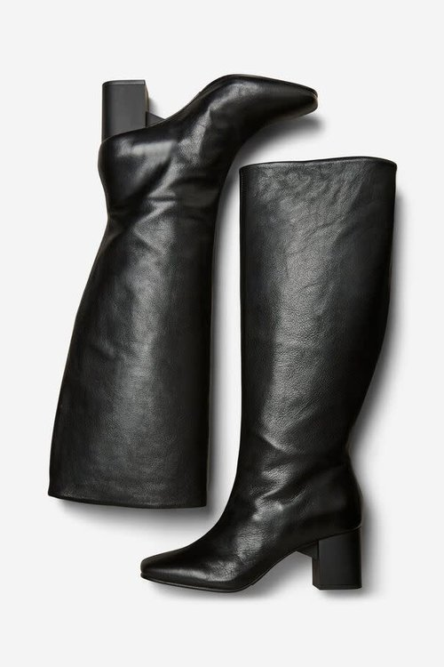 Zoey High Shafted Leather Boots
