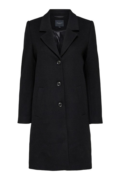 Selected Femme Sasja Wool Coat