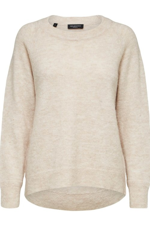 Selected Femme Lulu Knit O-neck