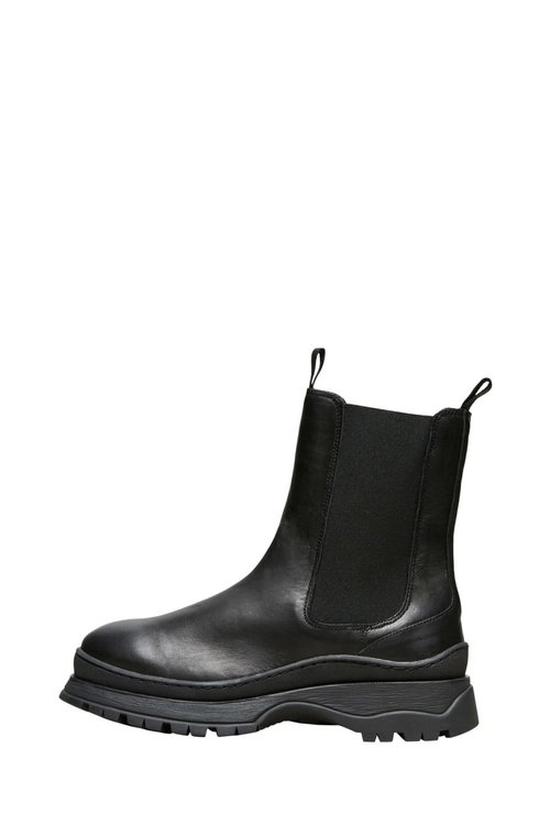 Lucy Leather Chelsea Boots