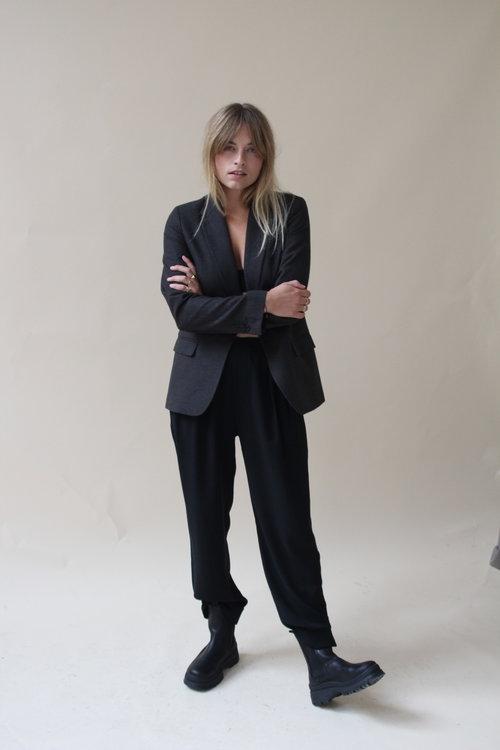 Ilva Small Check Blazer