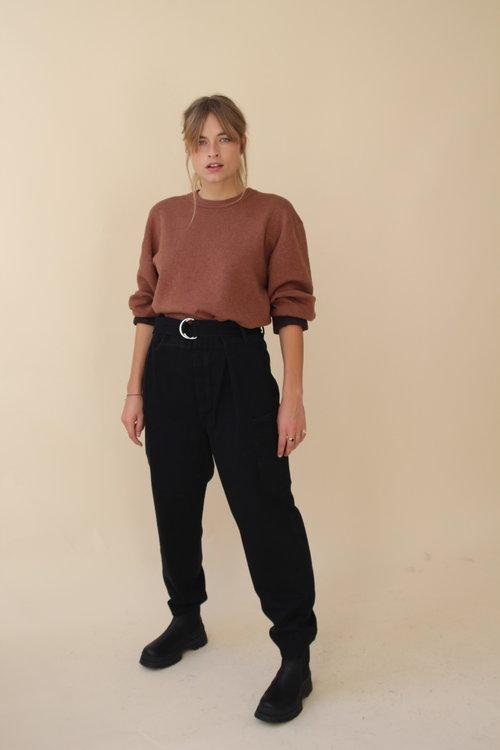 Selected Femme Dora Black Jeans