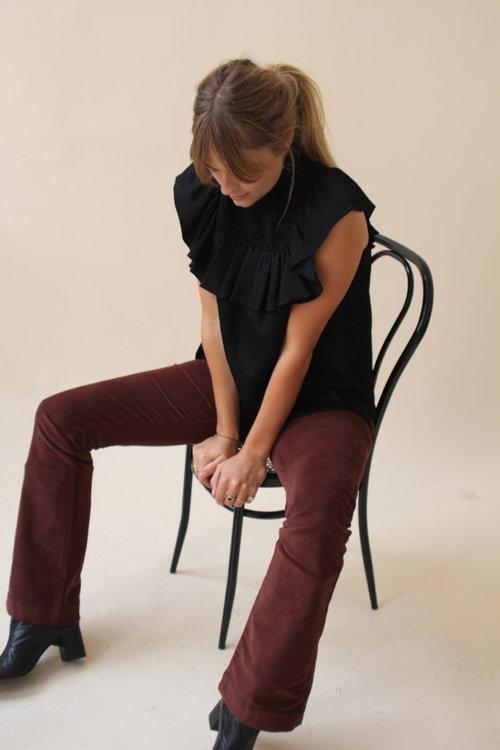 By Bar Leila Velvet Twill Pants