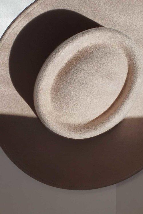 Bufandy Bolero Hat Soft Ivory