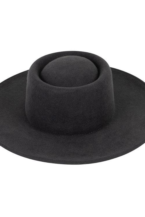 Bolero Hat Dark Grey