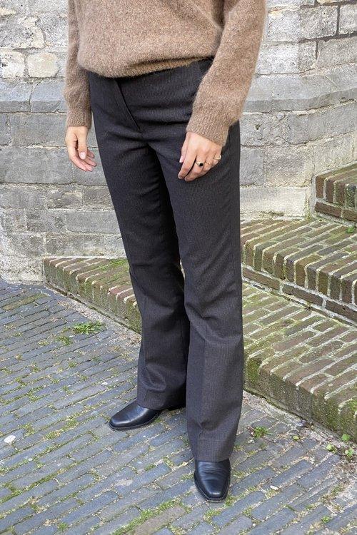 Ro Small Checked Pants