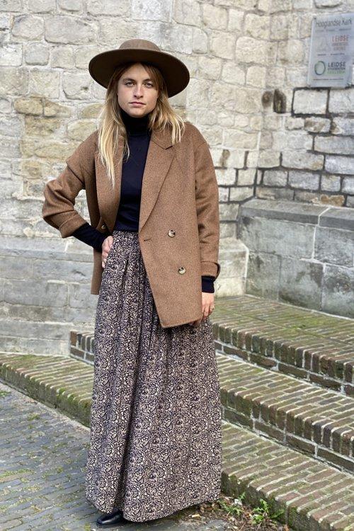 Linde Paisley Skirt