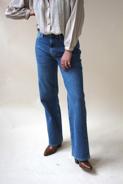 Brown Straight Jeans Hong Kong