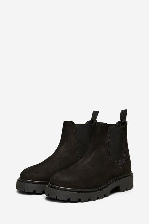 Selected Femme Emma Chelsea Nubuck Boot