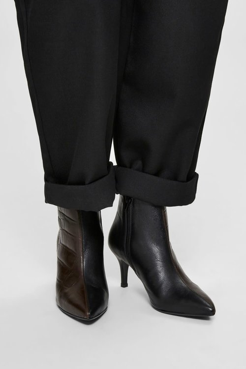 Selected Femme Harper Leather Boots