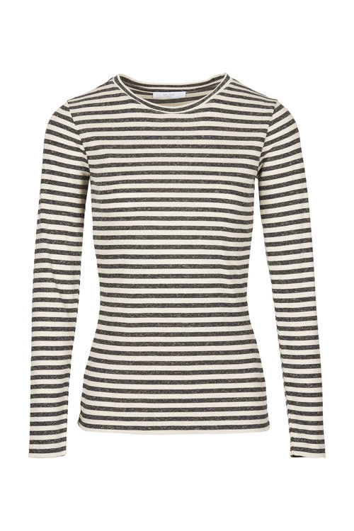By Bar Basic Melange Stripe Shirt