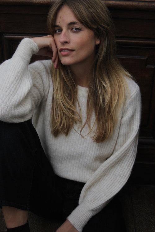 Selected Femme Sif-Kai Rib Knit