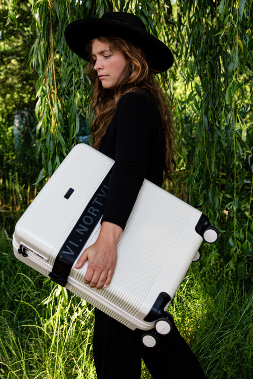 Nortvi Suitcase Essential Sand White
