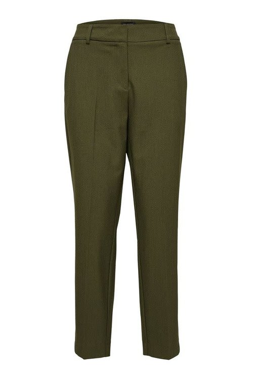 Selected Femme Ria Cropped Pants