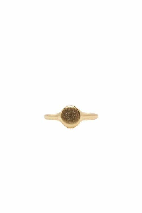 Mimi et Toi Little Oval Plain Ring