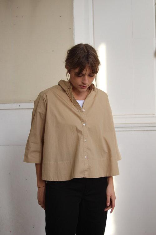 Rabens saloner Babara Deep Hem Shirt