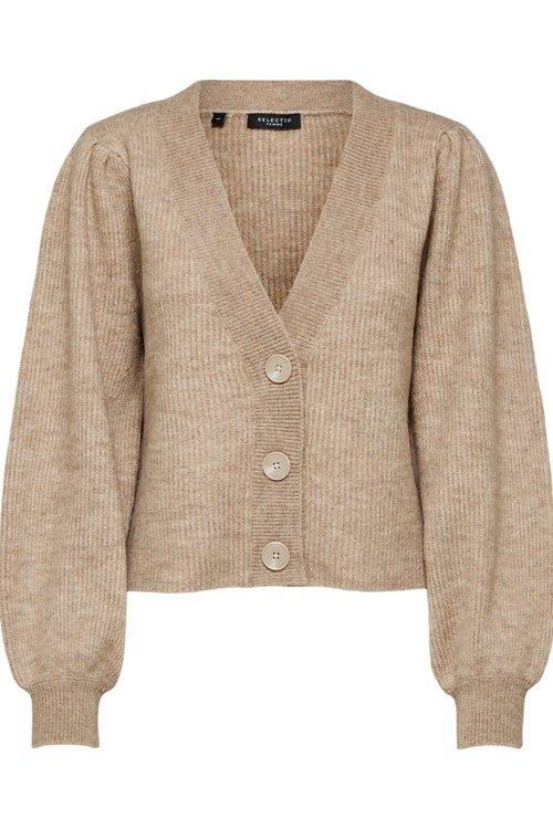 Selected Femme Lipa Knit Short Cardigan