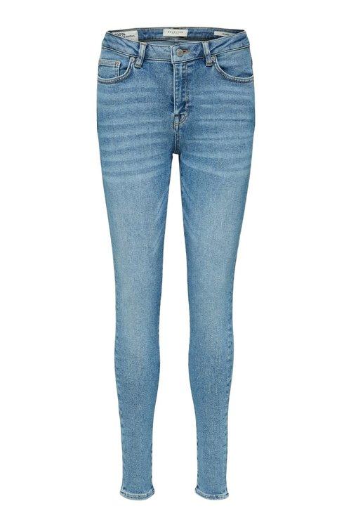 Selected Femme Sophia skinny mid blue jeans