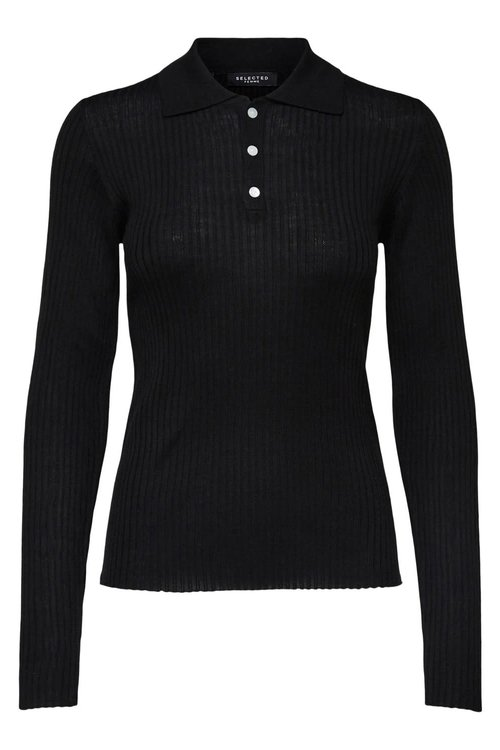 Selected Femme Costa Knit Polo