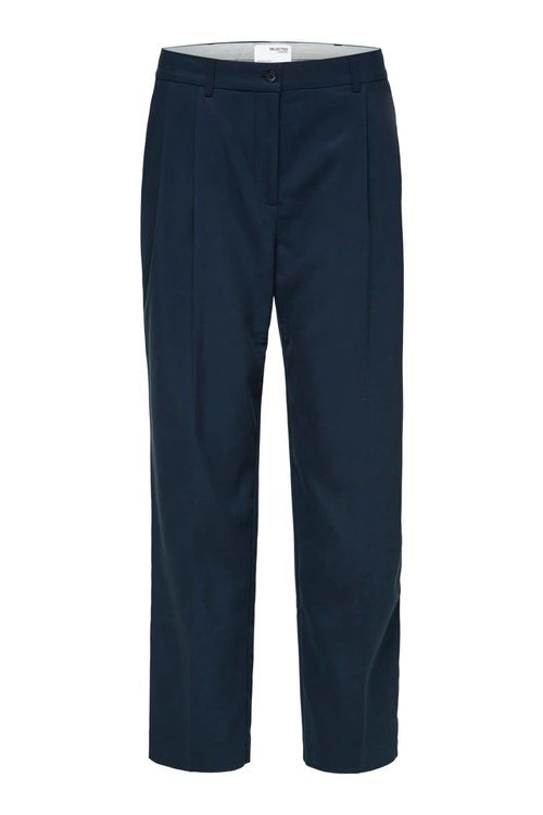 Selected Femme Blue Ankle Pants