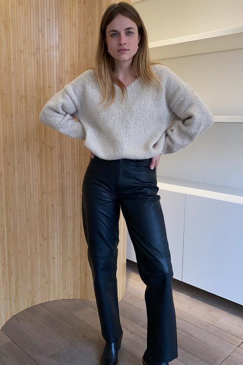 Selected Femme Kua Leather Pants
