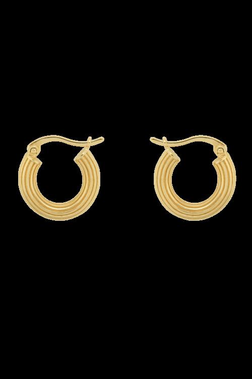 Anna+Nina Pyramid Ring Earrings