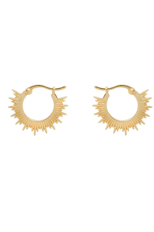 Anna+Nina Rising Sun Earrings
