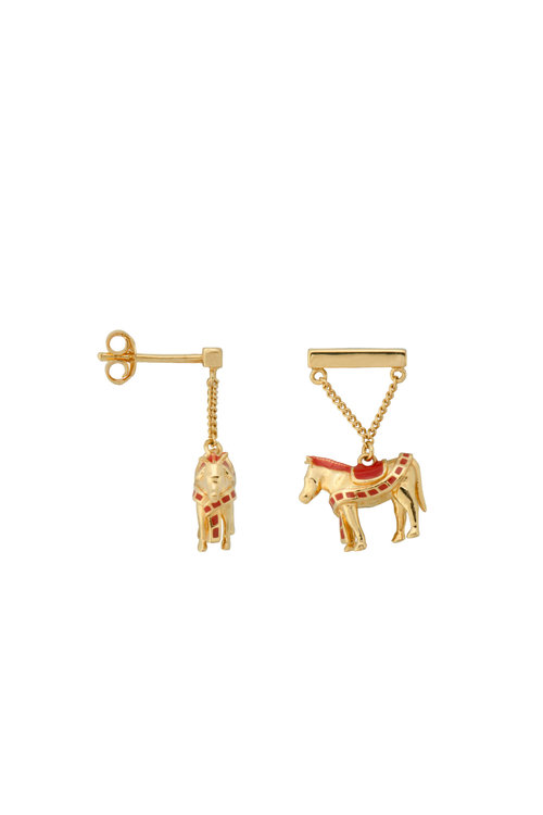 Anna+Nina Single Duo Pinata Stud Earring