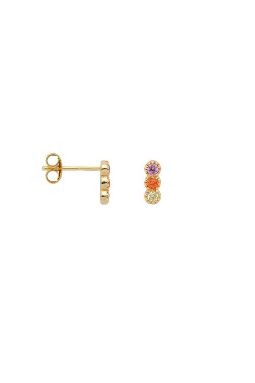 Anna+Nina Single Freedom Stud Earring