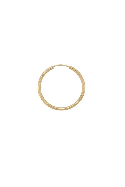 Anna+Nina Single Thick Plain Ring Earring XXL