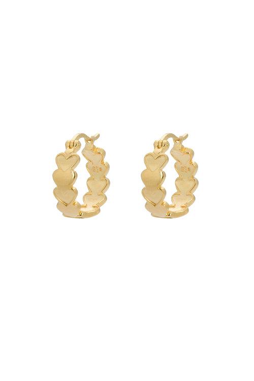 Anna+Nina Amor Plain Ring Earring
