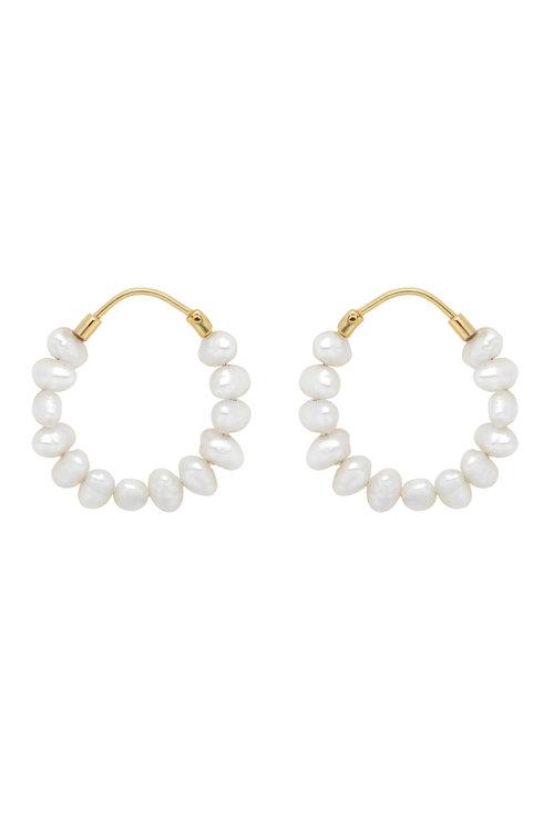 Anna+Nina Pearl Ring Earring