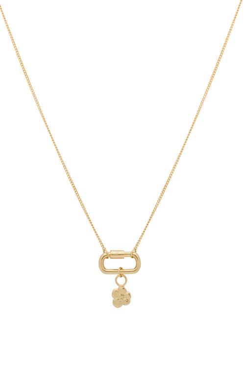 Anna+Nina Locked Soul Flower Necklace