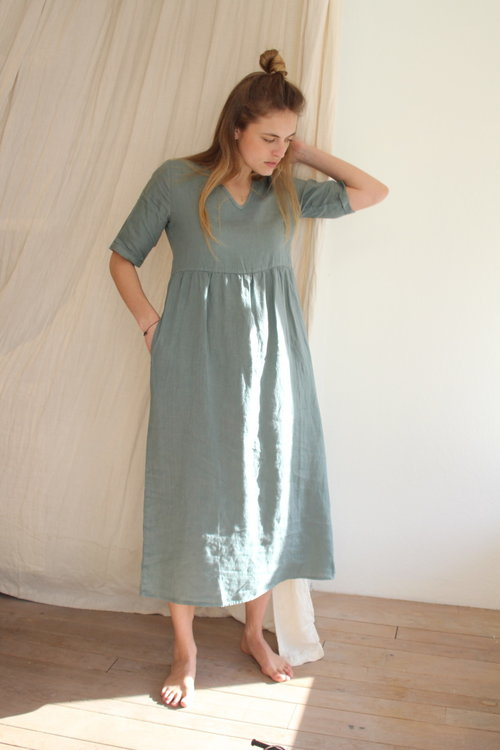 By Bar Daan Linen Dress