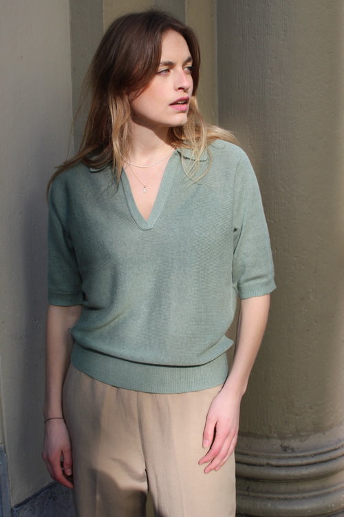 Knit-ted Buttercup Top