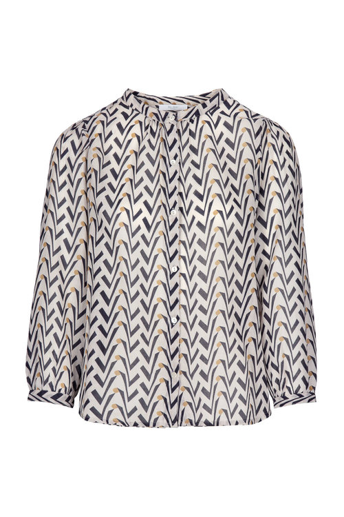 By Bar Lora Coconut Blouse