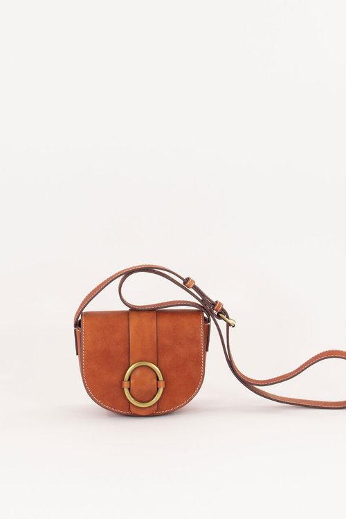 Sessun Minitessao Tan Bag