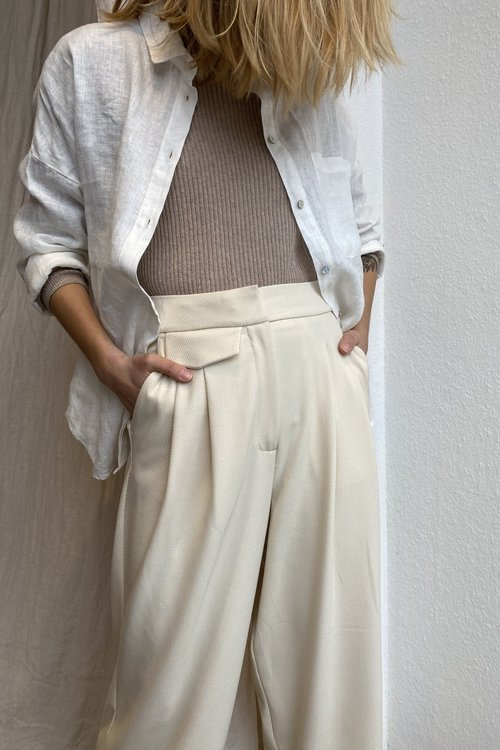 Selected Femme Hyme Cropped Pants