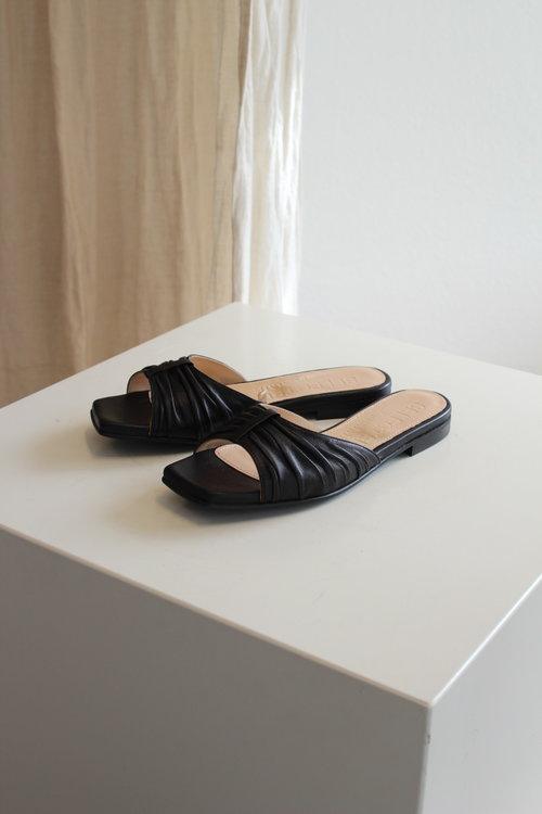 Selected Femme Malle Leather Slider