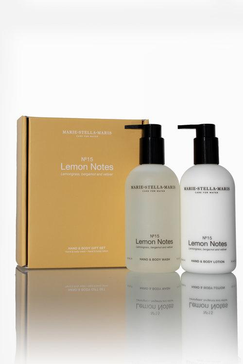 Marie Stella Maris Gift Set Hand & Body Lemon Notes 2x300 ml