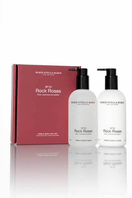 Marie Stella Maris Gift Set Hand & Body Rock Roses 2x300 ml